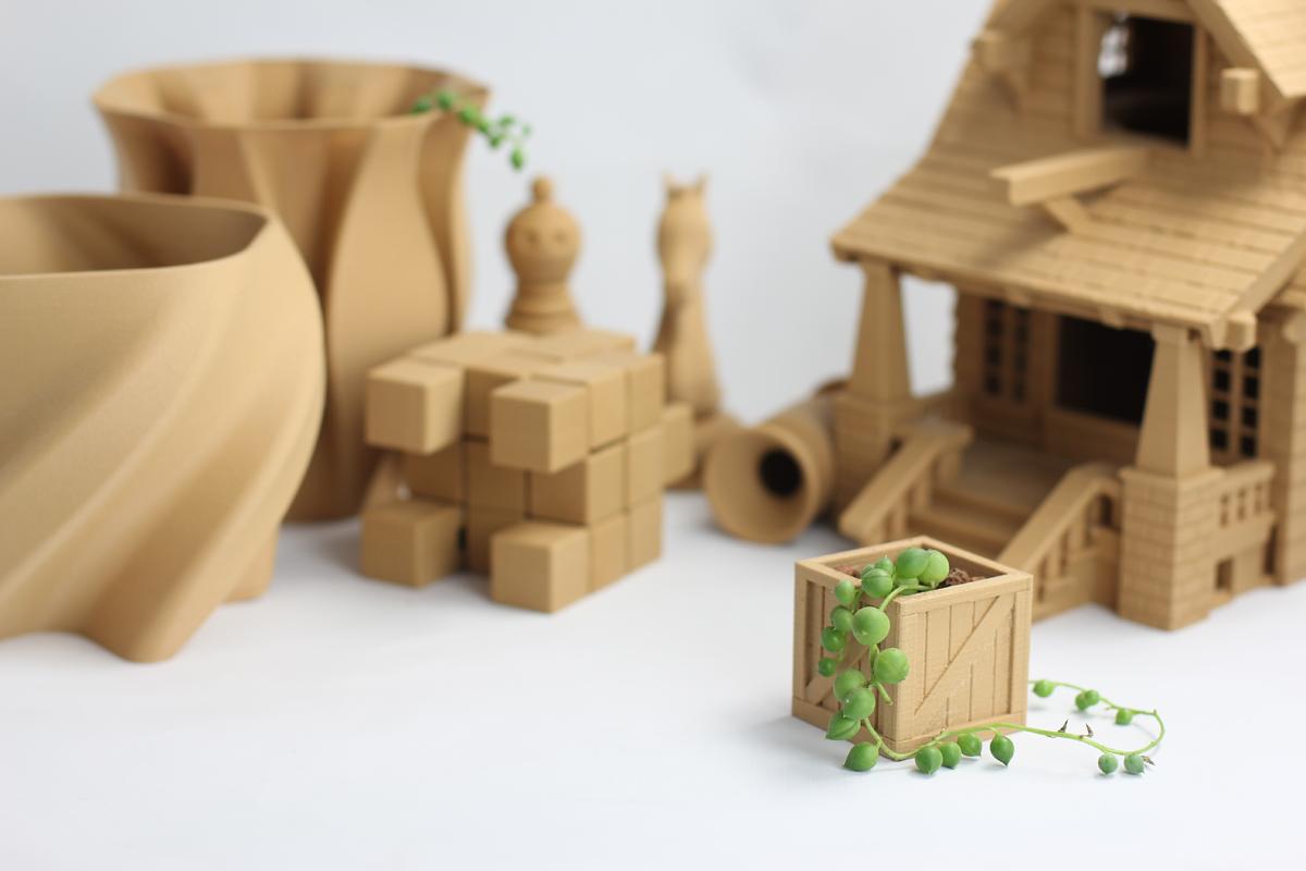 3D列印材料PolyWood
