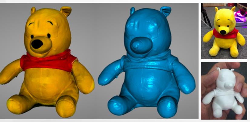 3D掃描技術-玩具公仔